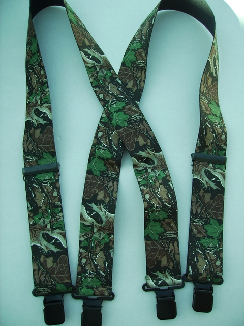 CAMOUFLAGE ADVANTAGE Suspenders 1 1/2 inches wide and 60 inches long  UB220N60ADVA