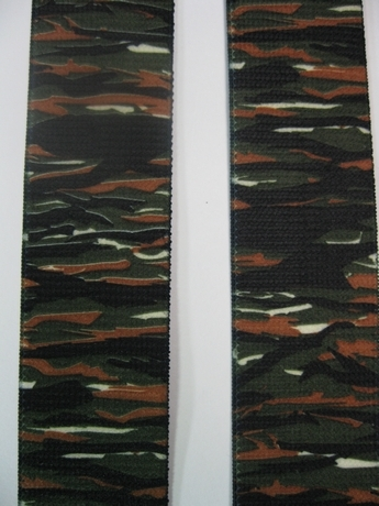 "CAMOUFLAGE 1 1/2"" X 48"" SUSPENDERS With 2 Strong Chrome Adjusters And 4 Grips. UB220N48TSJG"
