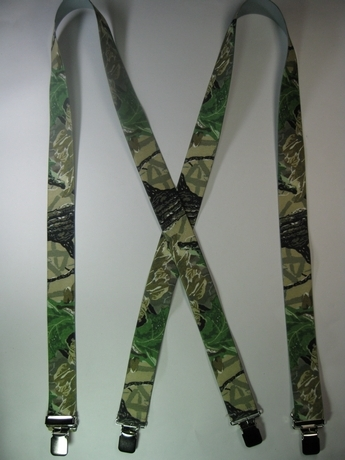 """CAMOUFLAGE 1 1/2"""" X 54"""" long With 2 Length Adjusters And 4 Grips. UB220N54RTXB"""