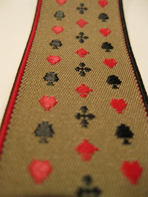 Mans ladies Casino Suspenders on sale.