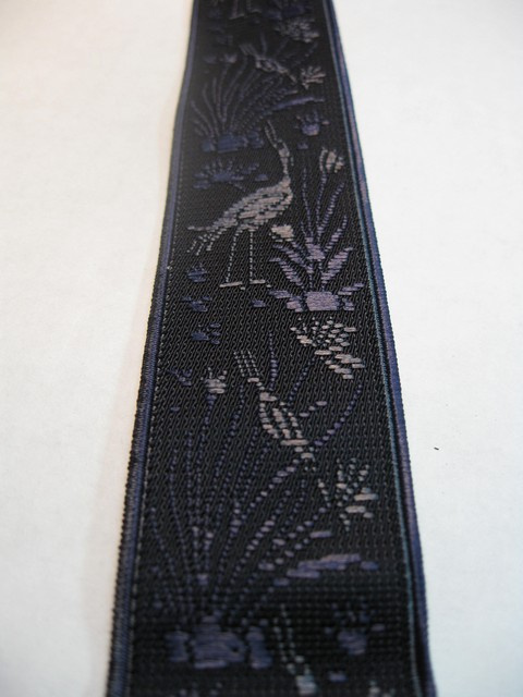 "PEACOCKS DESIGN - NAVY COLOR   1 1/3"" X 54"" DELUXE SUSPENDERS-Cotton/Polyester Hand Washable-Hang to Dry Material.WITH GOLD GRIPS AND ADUSTERS      YD-PEA76B54#111g"