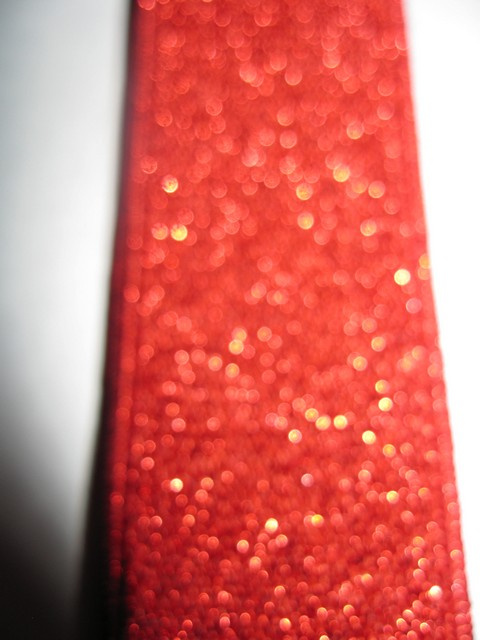 RED GLITTER &quot;X&quot; STYLE 1 1/4&quot;X48&quot; long &quot;FORMAL WEAR&quot; FRENCH SATIN FINISH Suspenders WiTH 4 STRONG CHROME ADJUSTERS AND GRIPS      GF760N48RED