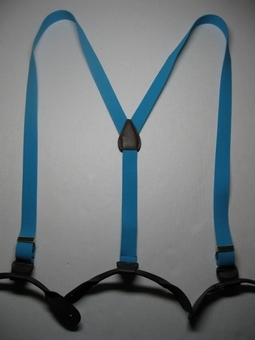 "1"" wide ""X"" Style Button On Suspenders 22 colors at wholesale to the public prices."