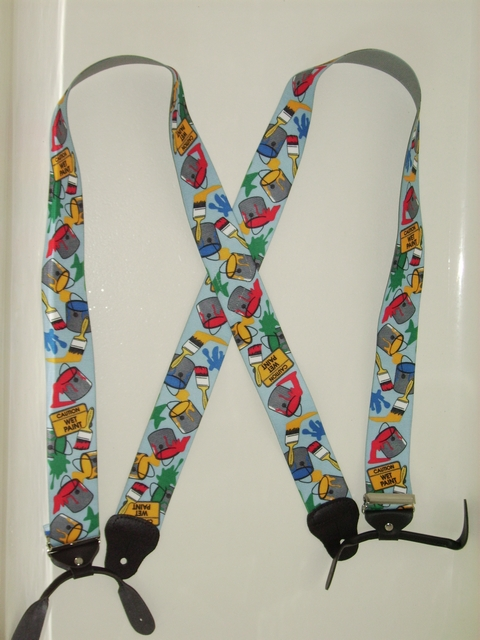 "BUTTON-ON PAINTER 2""X 48"" Suspenders UA120N48PT#1"