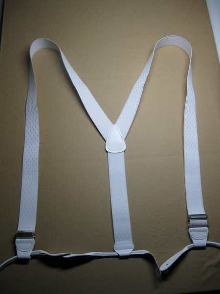 """Man's Suspenders  1 1/4"""" wide """"Y"""" Style Button On Assorted colors Wholesale to the Public."""