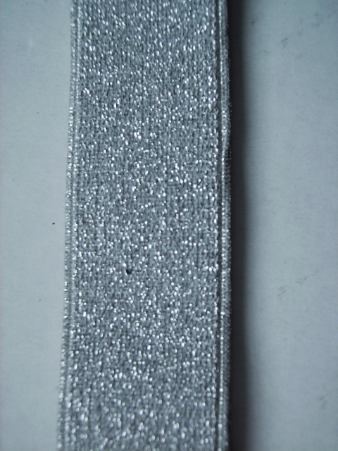 SILVER GLITTER &quot;X&quot; STYLE 1 1/4&quot;X54&quot; long  FRENCH SATIN FINISH Suspenders with 4 strong 1/2&quot;X1&quot; CHROME GRIPS and  2 strong CHROME adjusters in front and 1 CHROME adjuster in the back.      GF760N54SILV