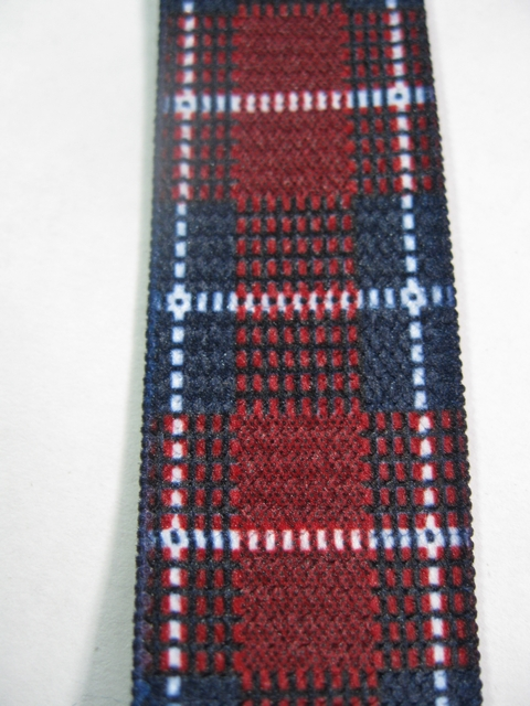 "BURGANDY PLAID PATTERN 1 1/2""x 48""   Suspenders with 4 strong 1""x 1"" Grips and 2 Length Adjusters in the front, all in NICKEL FINISH.  Entirely Stretchable Hand Washable and Hang to Dry Cotton/Polyester Material.                UB220N48PBUR"