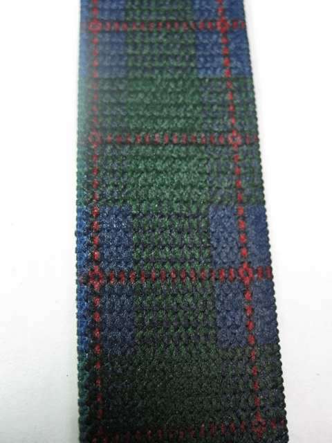 """DARK FRESH GREEN PLAID PATTERN 3/4""""x 48""""   Suspenders with 4 strong 1/2""""x 1"""" Grips and 2 Length Adjusters in the front, all in NICKEL FINISH.  Entirely Stretchable Hand Washable and Hang to Dry Cotton/Polyester Material.                Entirely Stretchable Cotton/Polyester Material.         UD760N48PHUN"""