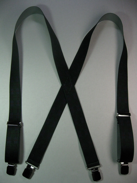 "HUNTER DARK FRESH GREEN PATTERN 1""x 48""      Suspenders with 4 strong 1/2""x 1"" Grips with nylon Teeth and 2 Length Adjusters in the front, all in high polish CHROME FINISH.  Entirely Stretchable Hand Washable and Hang to Dry Cotton/Polyester Material.                  UC260N48PHUN"