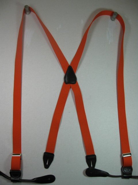 "Men's Suspenders 1 1/4"" wide ""X"" Style Button On Assorted colors.  1 1/4"" wide ""Y"" Style Button On Assorted colors."