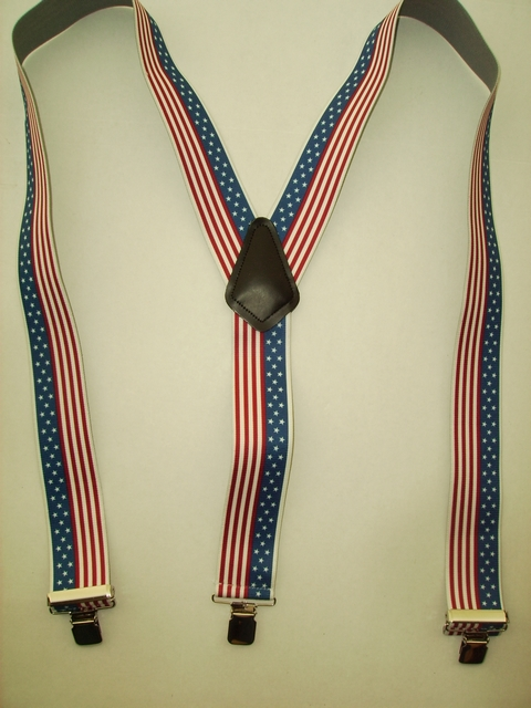 "Mans Ladies Chilrens Suspenders on Sale. 1 1/2"" & 2"" U.S. Flag, Army, Navy, Marines, Airforce, Seals, Prisoner of"